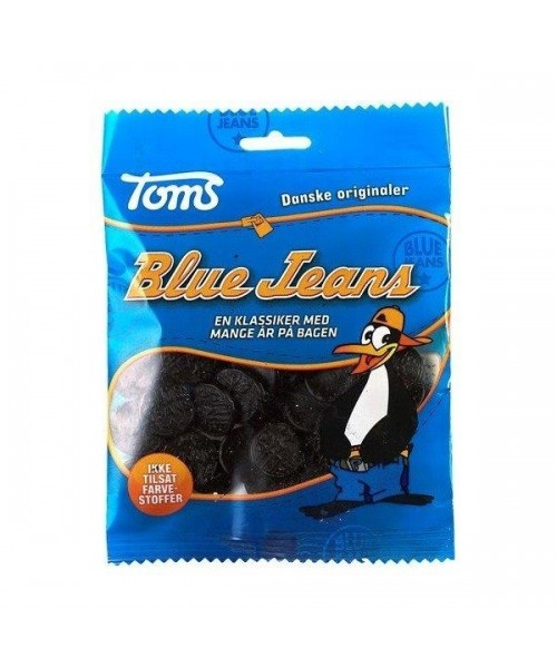 Pingvin (Penguin) Blue Jeans (Salty Liquorice Sweets) - 110 g