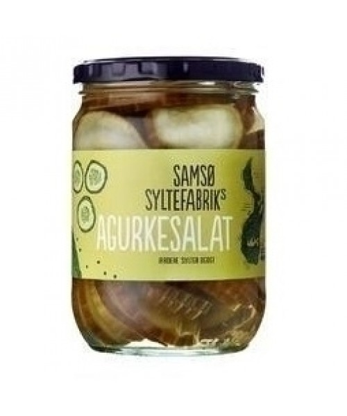 Samso Agurkesalat (Pickled Sliced Cucumber) - 560 g