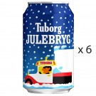 Tuborg Julebryg - 5.6% - 330ml x 6 ( Best Before 27.10.2019 )