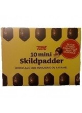 10 Mini Skildpadder (Mini Chocolate 'Turtles' ) - 120 g