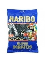 Haribo Super Piratos (Extra Salty Liquorice 'Pirate' Coins) - 120 g