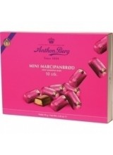 Anthon Berg Mini Marzipan Bars in a Box of 10 pieces - 95 g