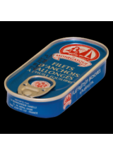 Filets D'anchois Allongés (Anchovies In Oil) - 50 g