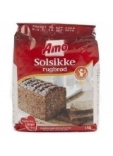 Rugbrødsblanding m/Solsikke (Rye Bread Mix with Sunflower Seeds) - 1 kg