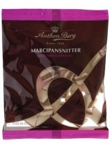 Anthon Berg Marzipan Bites with Nougat 175 g