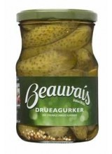 Beauvais Drueagurker (Pickled Gherkins) 550g